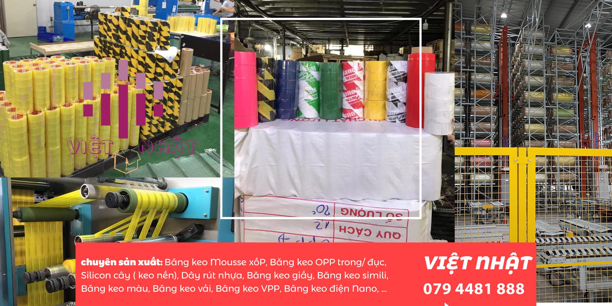 Vì vậy, băng keo trong dán thùng là một lựa chọn tối ưu nhất có thể đáp ứng được các yêu cầu của khách hàng, đặc biệt khâu bao bì đóng gói, bắt buộc chúng ta phải sử dụng băng keo trong dán thùng. BĂNG KEO VIỆT NHẬT chuyên sản xuất băng keo trong dán thùng được sản xuất và cung cấp ngay tại xưởng, không thông qua bất kỳ một khâu trung gian nào. Chính vì thế, việt nhật đảm bảo cho quý khách hàng giá cả của sản phẩm luôn hợp lý và cạnh tranh nhất trên thị trường.