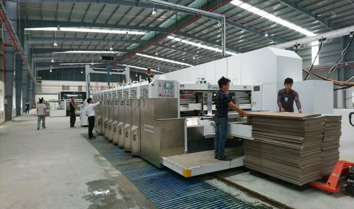 Quy trình in ấn và sản xuất bao bì carton
