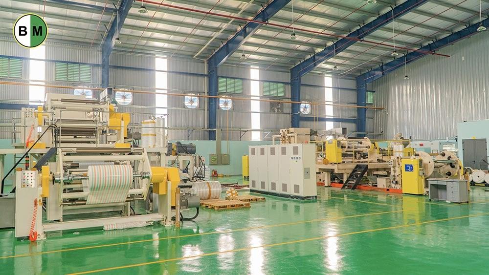 Công ty bao bì Bình Minh có công suất hoạt động lớn