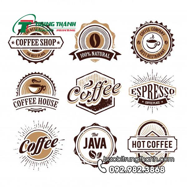 muốn làm logo quán cafe