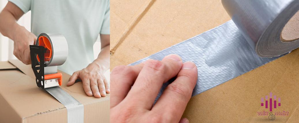 băng keo vải dùng đóng gói hàng hóa