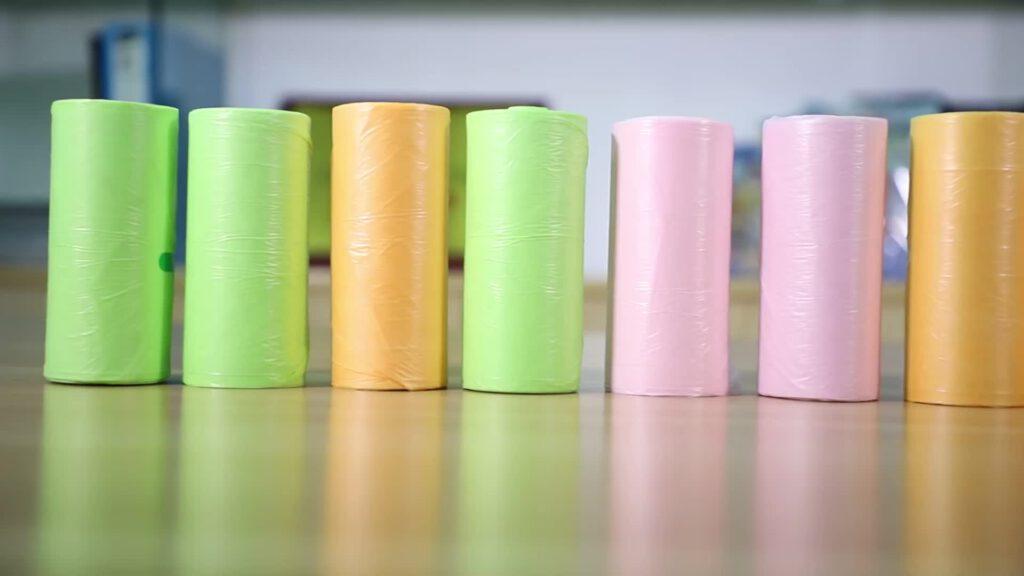 Cung cấp túi nhựa cuộn tự hủy giá rẻ