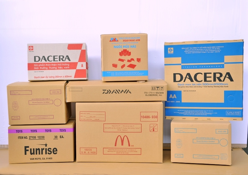 Cần chọn vật liệu để làm thùng giấy