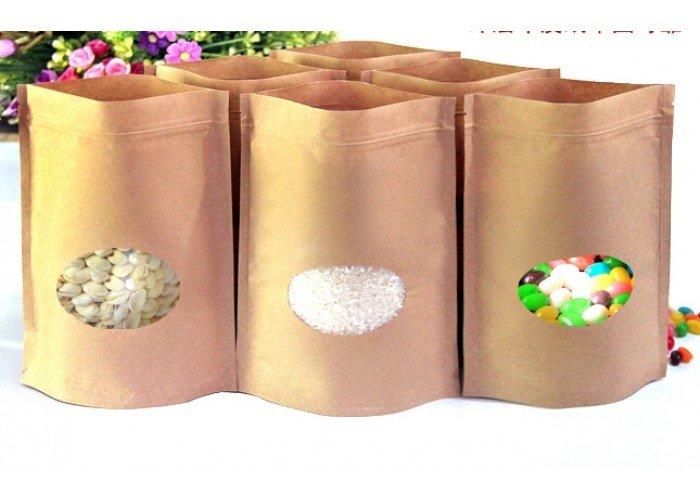 Chuyên cung cấp túi zipper giấy kraft chất lượng