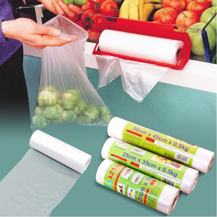 Sử dụng túi phân hủy trong đời sống