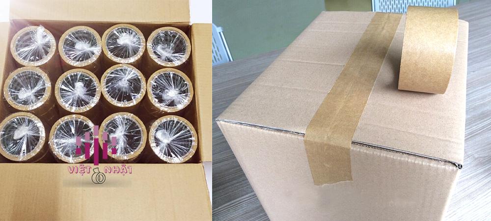 Ứng dụng của Băng Keo Da Bò Có Chỉ dán niêm phong thùng carton để xuất khẩu